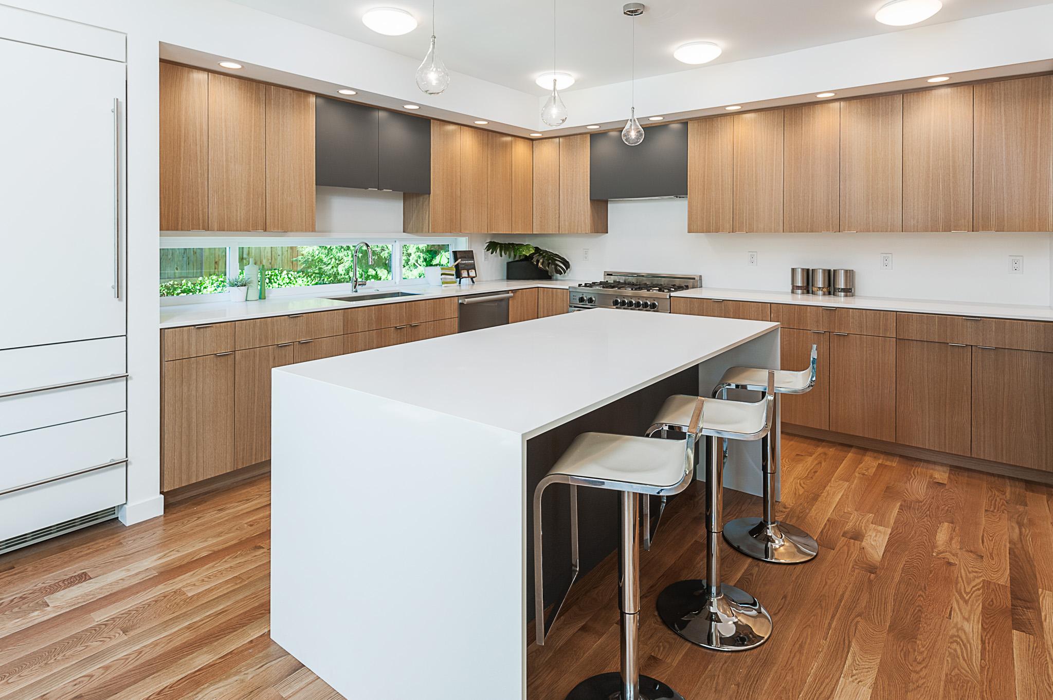 Creative Kitchen Design Custom Oak Cabinets