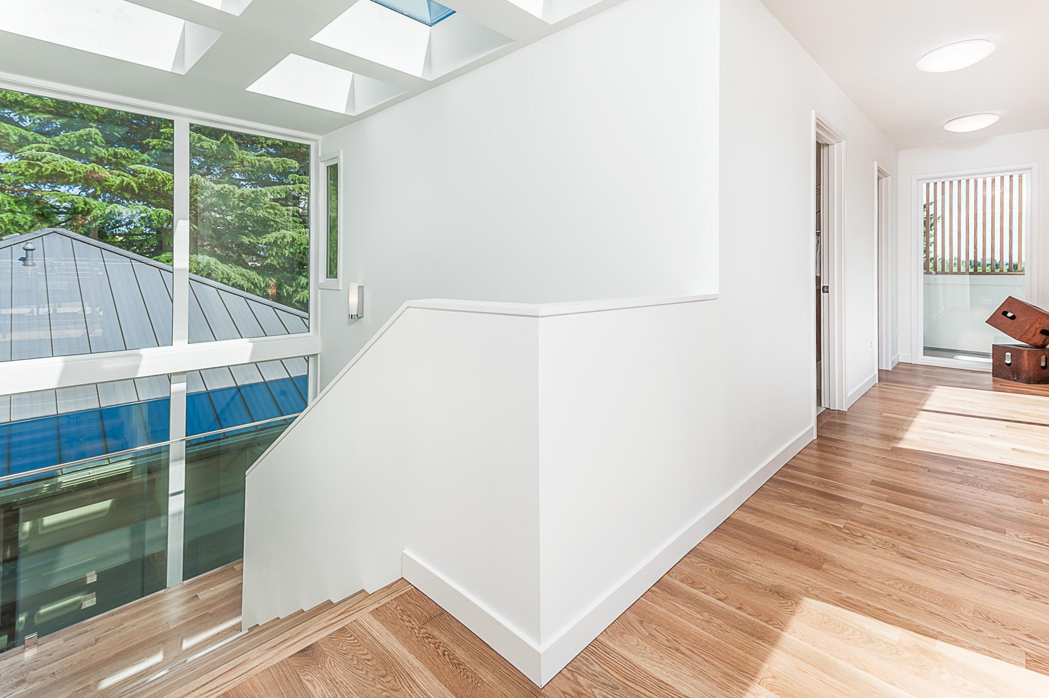 Skylight stairs