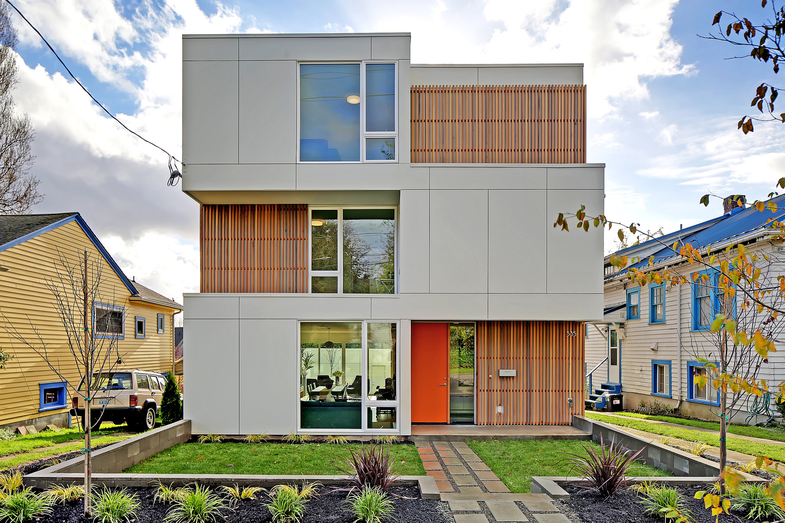 Greenlake Seattle Modern Custom Home