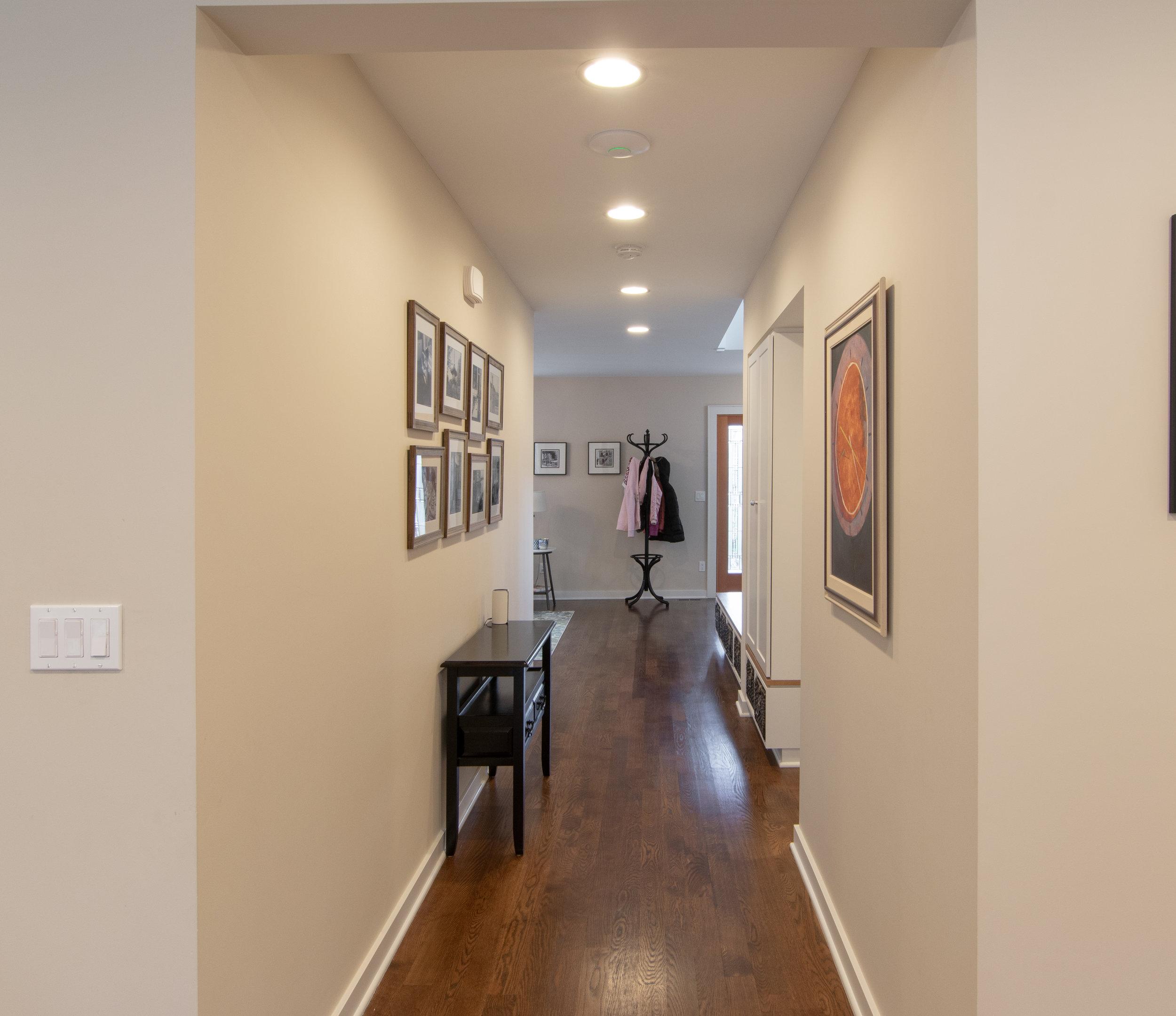 Queen Anne Victorian Remodel Hallway