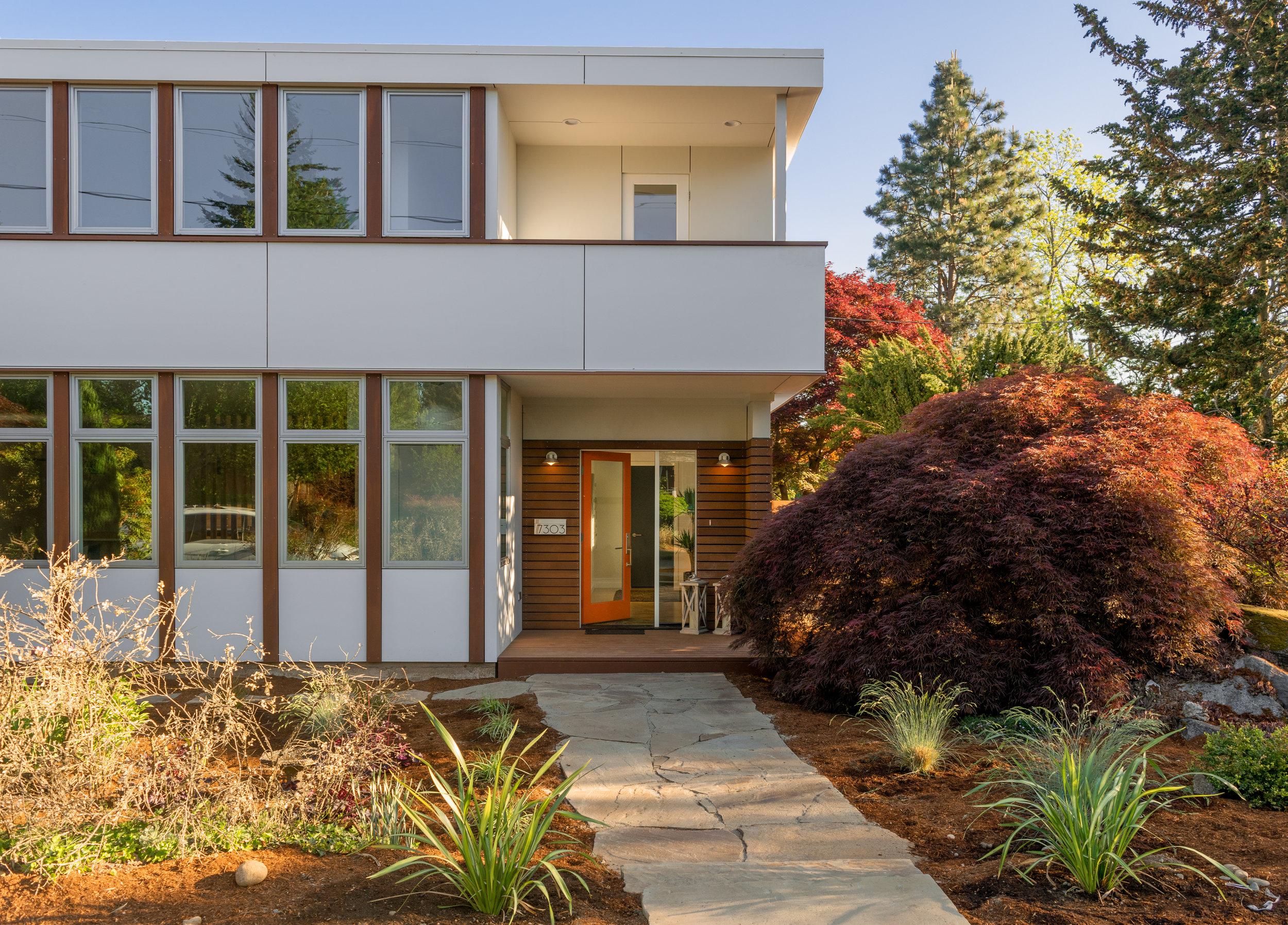 Garden House Front Entry