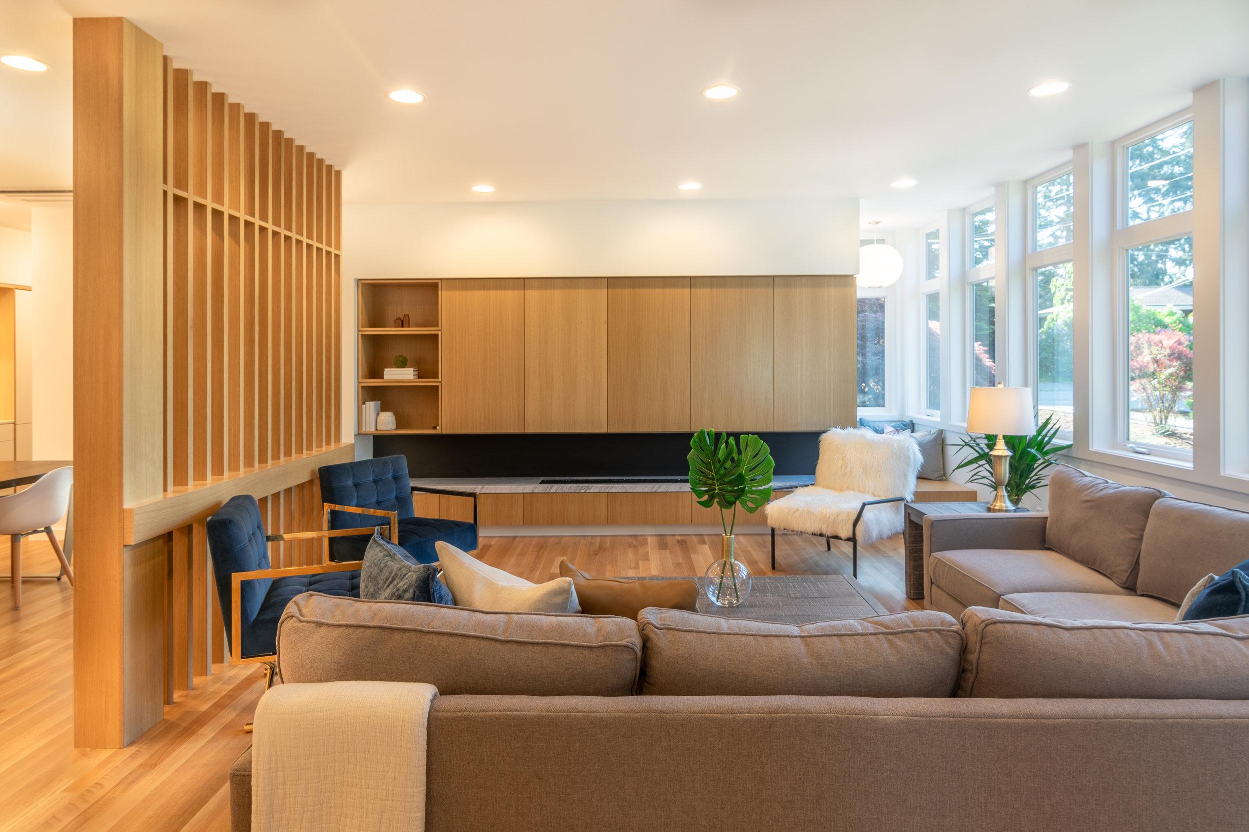 Ravenna Garden House Living Room and Reading Nook