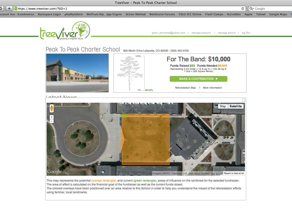 TreeViver Website