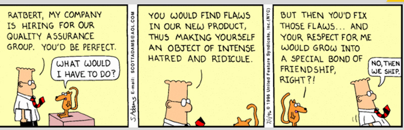 Dilbert gets it...