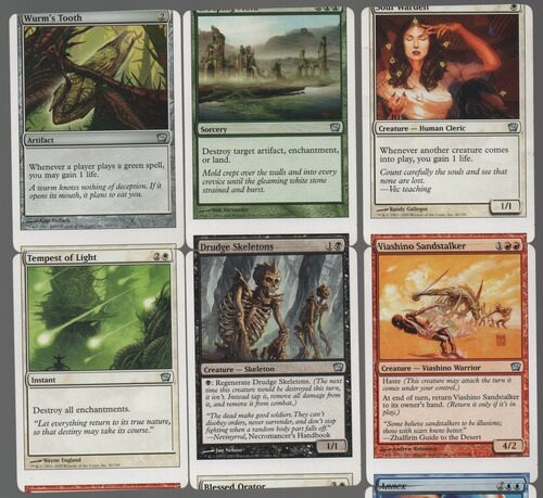 MTG NFC Miscut Misprint Pack Lot 5 Miscuts per pack Limited Available.