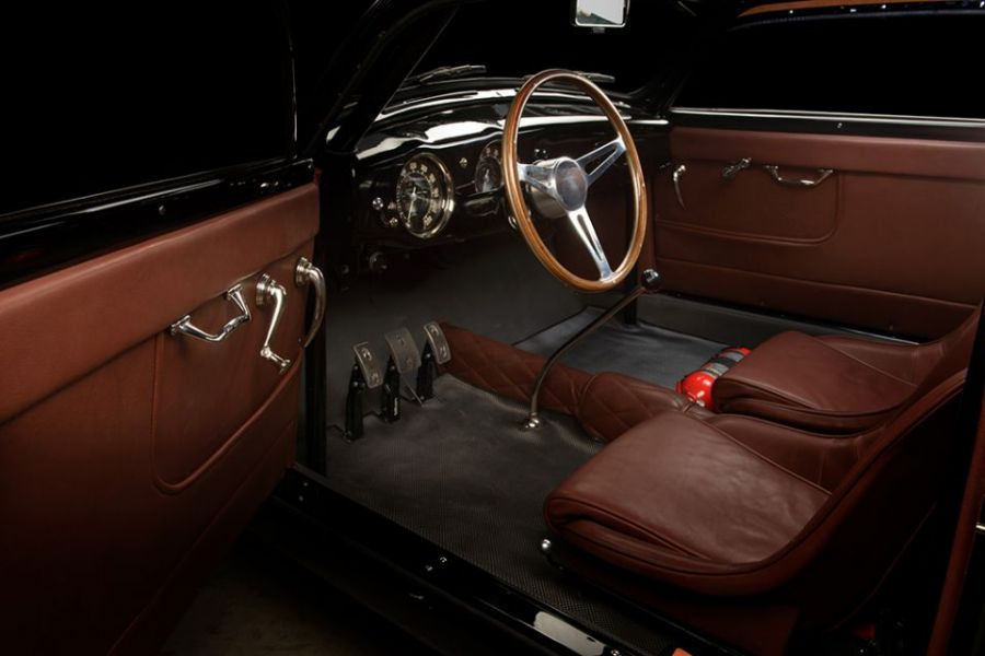 Porsche 356 Speedster Aluminium front seats