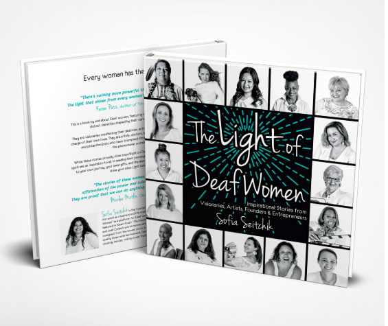 The Light of Deaf Woman, by Sofia Seitchik