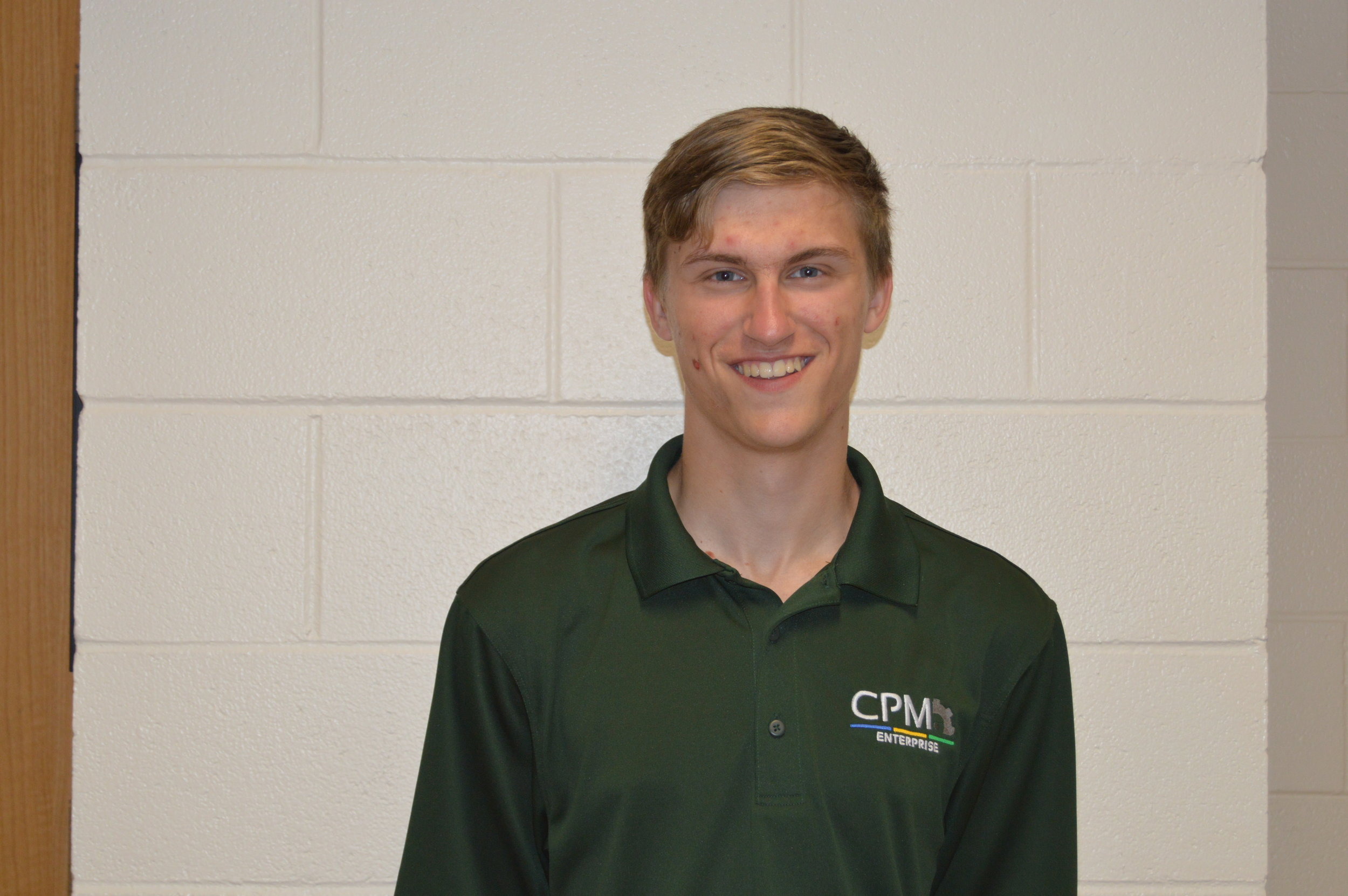 Joshua Sabrowsky - My name is Joshua Sabrowsky and I am the Yanfeng Ultrasonic Welding Optimization Team Lead for the 2018-2019 year. This is my second semester on CPM and I also hold the Safety Officer position on E-Board. I am in my third year at Michigan Tech pursuing my bachelor's in Chemical Engineering. Originally, I am from Kiel Wisconsin but this past summer I gained industry experience working as a Paint Engineer at Yanfeng Automotive Interiors on an internship in Holland Michigan. My favorite thing to do here at Tech is go to hockey games, Go Huskies!