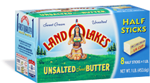 1 1/2 cups (3 sticks) unsalted butter softened