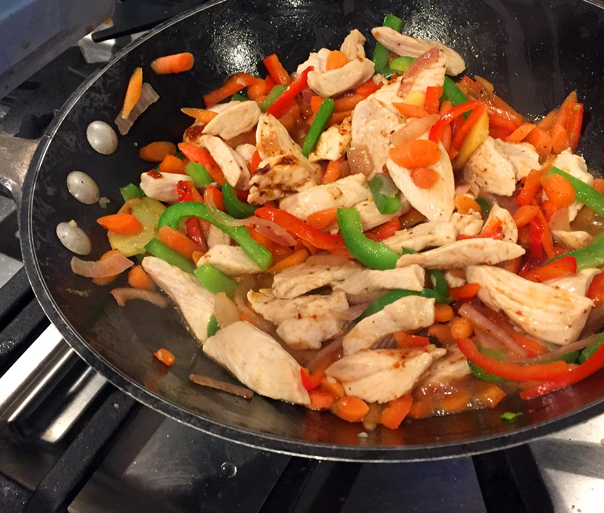 Cooking Thai Red Curry