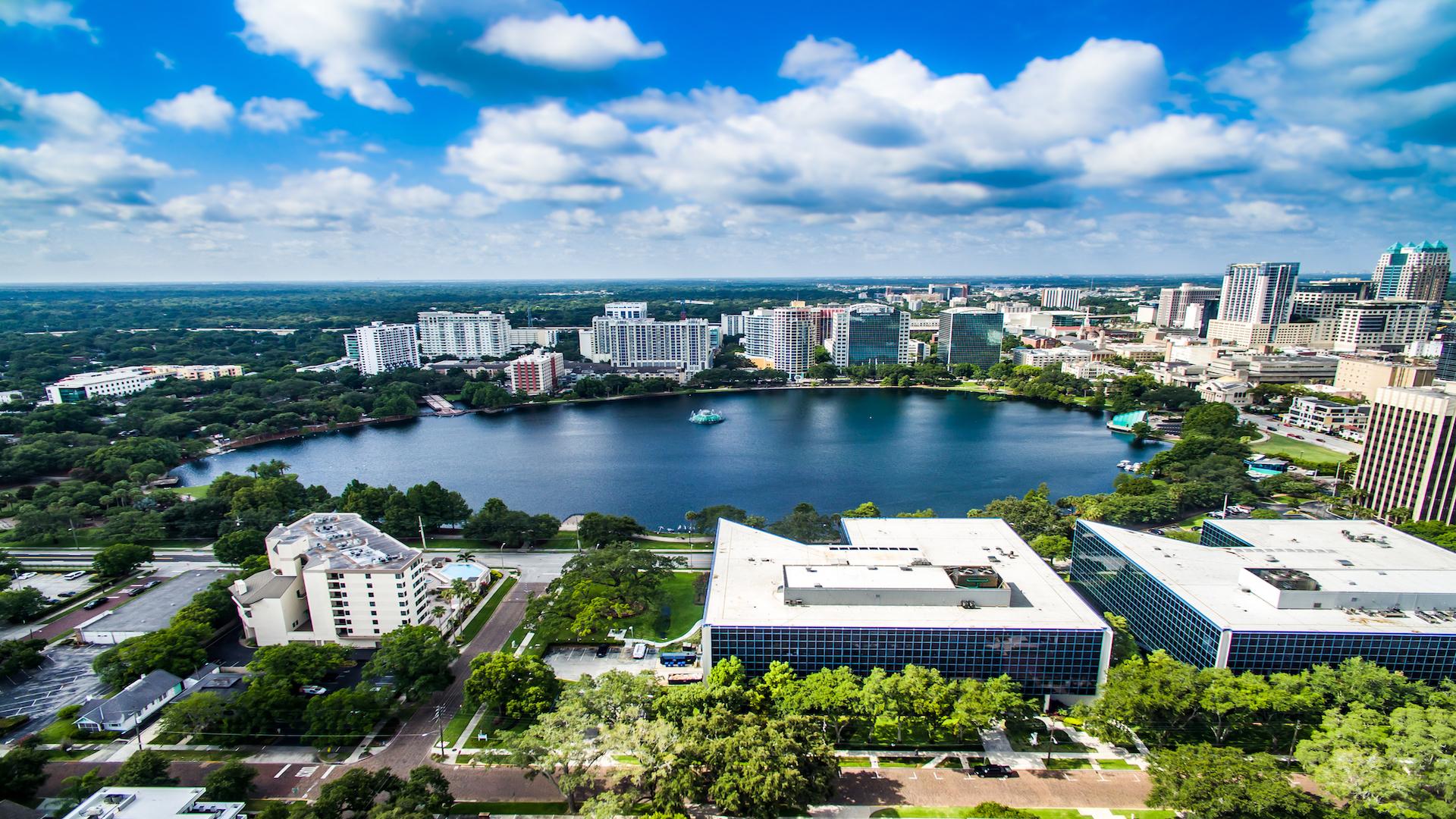 Lake Eola, Downtown Orlando