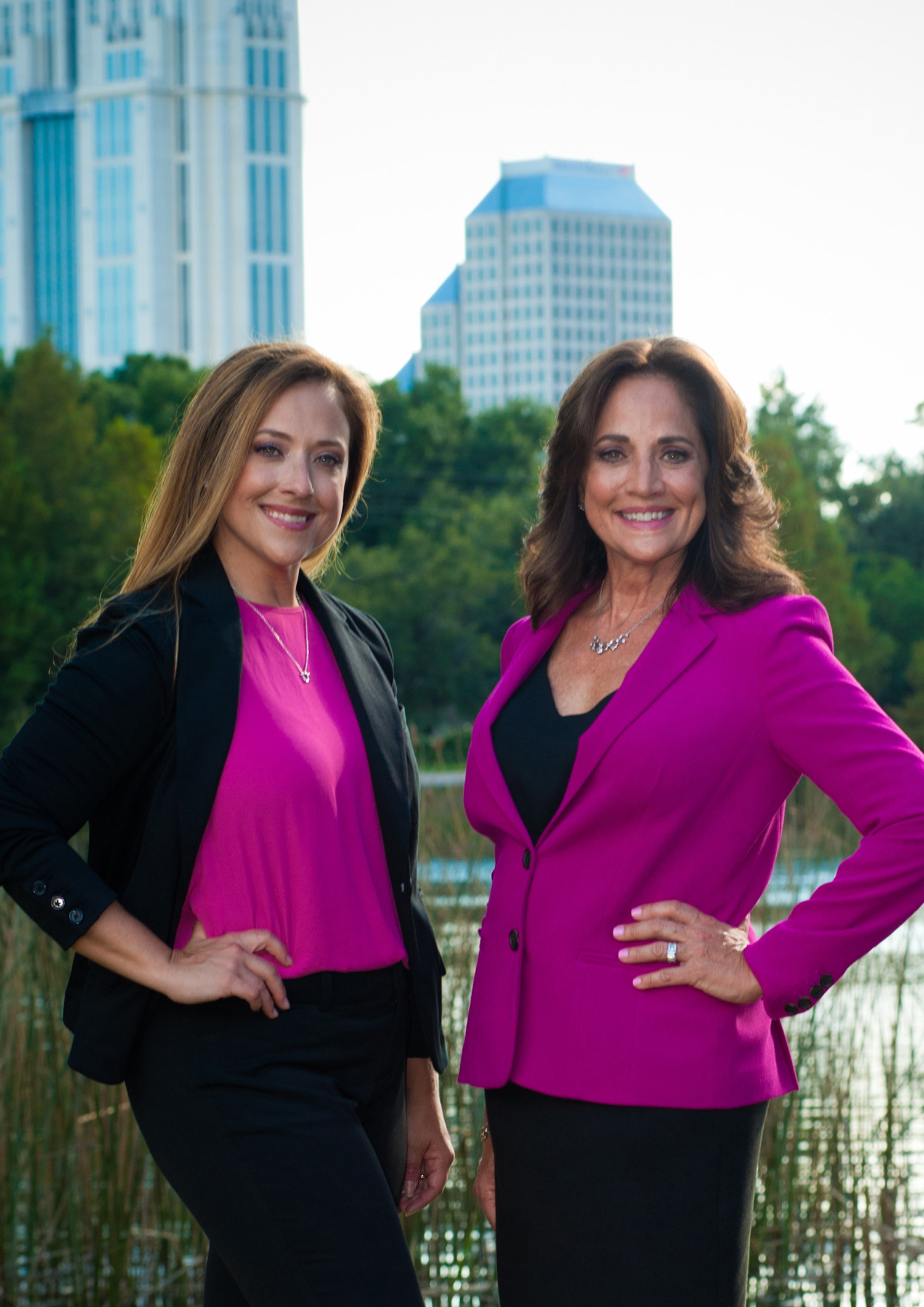 Vanessa Loomie and Jan Coudriet, daughter-mother Realtor team