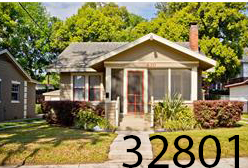 Lake Cherokee bungalow in downtown  Orlando   3 BR/ 2 BA - 1,457sf  $305,000   630 Bourne Pl Orlando