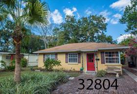 Block home in College Park,  Orlando   3 BR / 2 BA - 1,571sf  $280,000   205 Oglethorpe Pl, Orlando