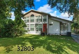 Lakefront fixer-upper,  Orlando   4 BR/ 2.5 BA - 3,388sf  $300,000   4801 Beach Blvd Orlando