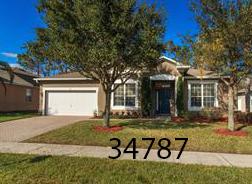 Home w/fenced yard in  Winter Garden   5 BR/2 BA - 2,502sf  $300,000   127 Doe Run Dr Winter Garden