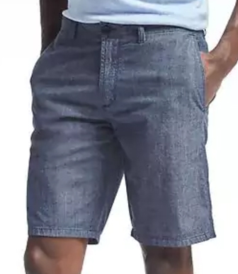 "Aiden Chambray Short - $59.50 Banana Republic (10"" inseam)"