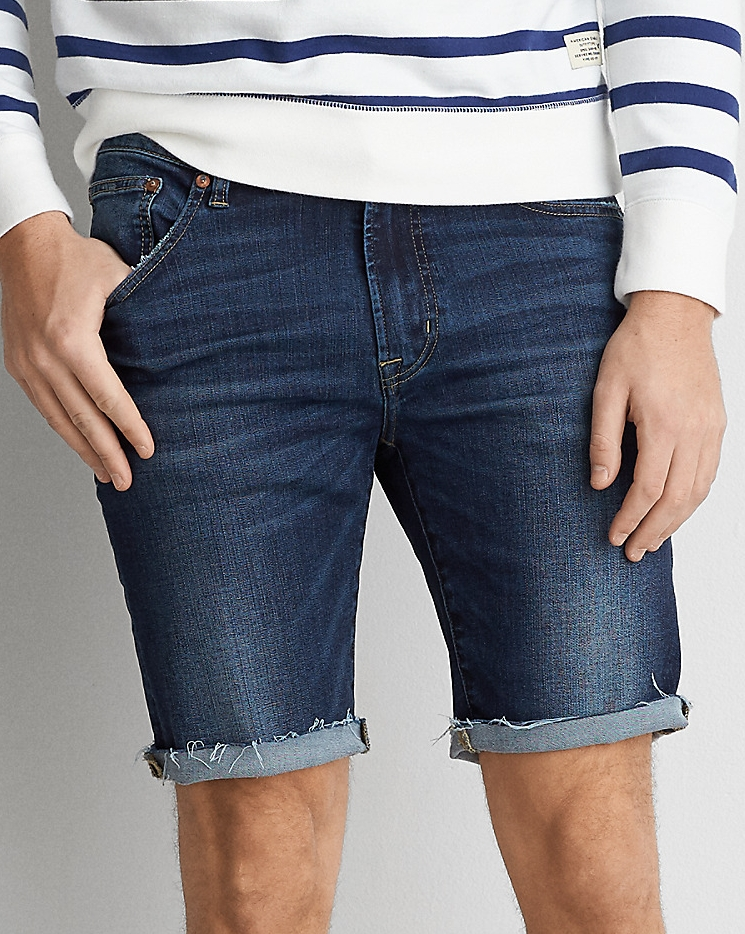 "AEO Extreme Flex Denim Short - $44.95 American Eagle (9.5"" inseam)"
