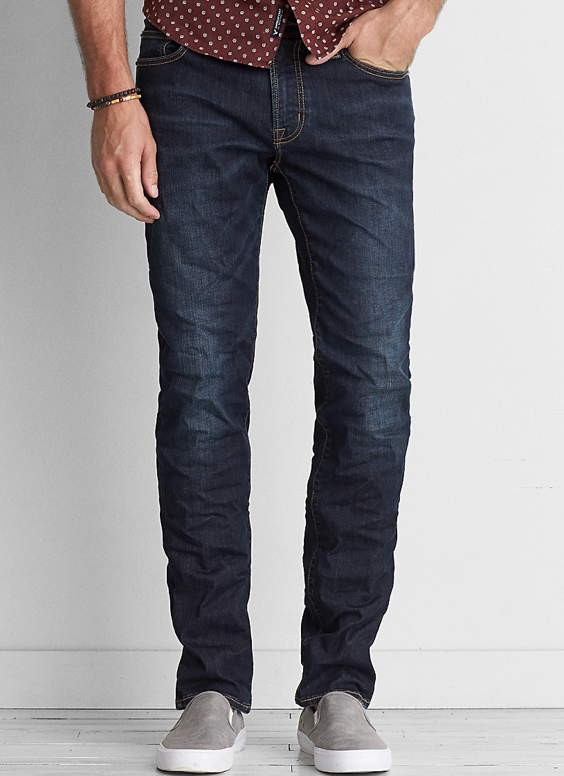 AEO Extreme Flex Slim Straight Jean - $54.95 American Eagle (stretch)