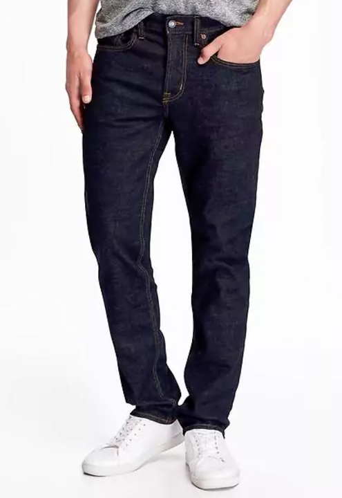 Slim Built-in Flex Jeans - $39.94 Old Navy (Rinse, stretch denim)