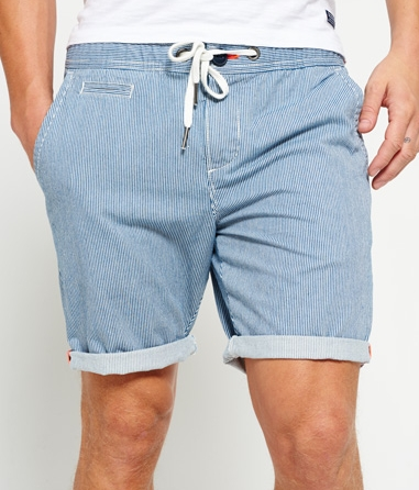 International Sun Scorched Denim stripe Short - $39.50 Superdry