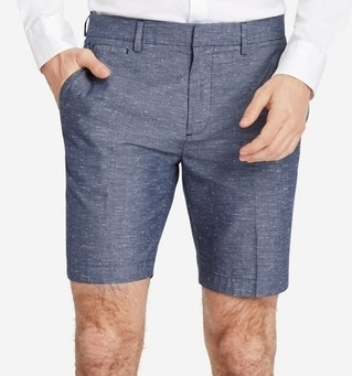 "Parker Shorts in Navy Chambray - $98 Bonobos (8"" inseam)"
