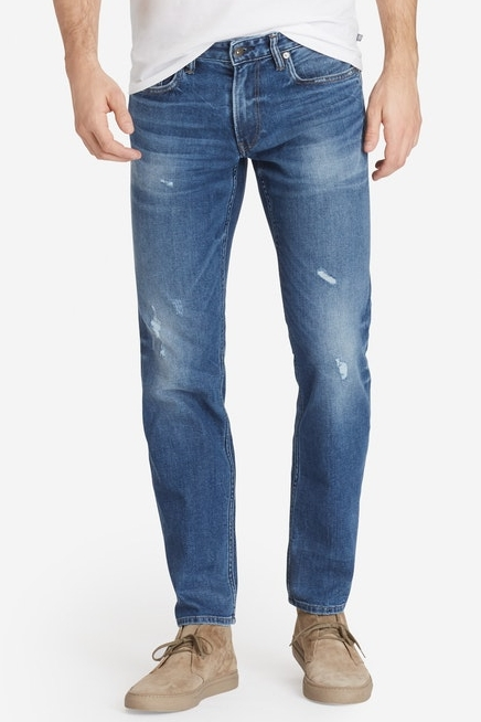 Summer Weight Jean - $138 Bonobos (Tailored & Slim Fits, light destroy wash)