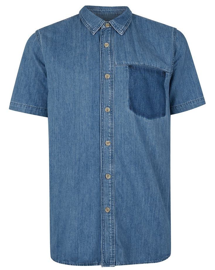 Topman Shadow Pocket Shirt - $50 Nordstrom
