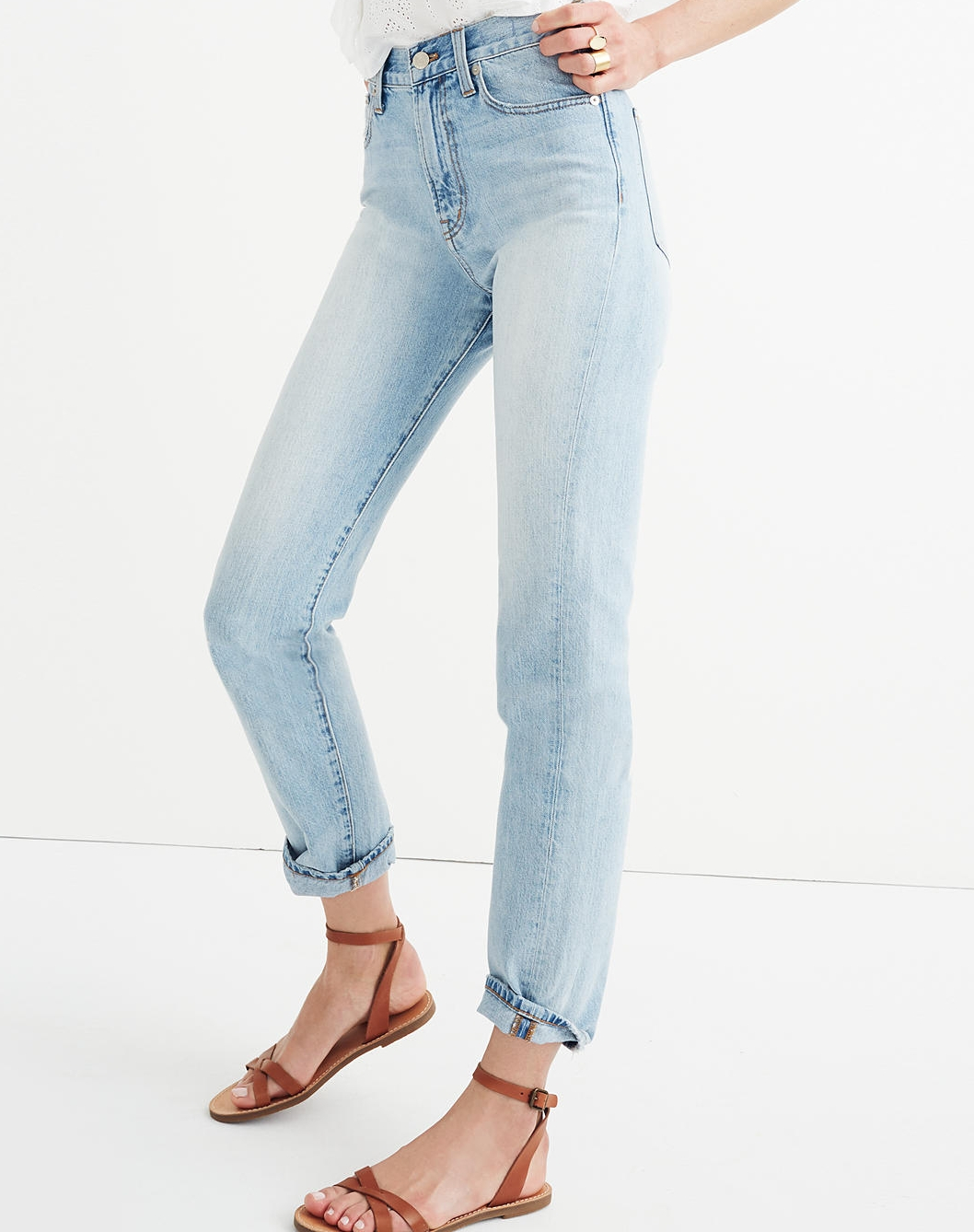 The Perfect Summer Jean High Rise - $115 Madwell (100% Cotton)