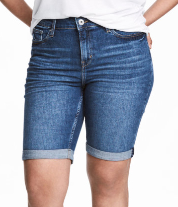 Denim Bermuda Short - $34.99 H&M (also comes in Black rinse)