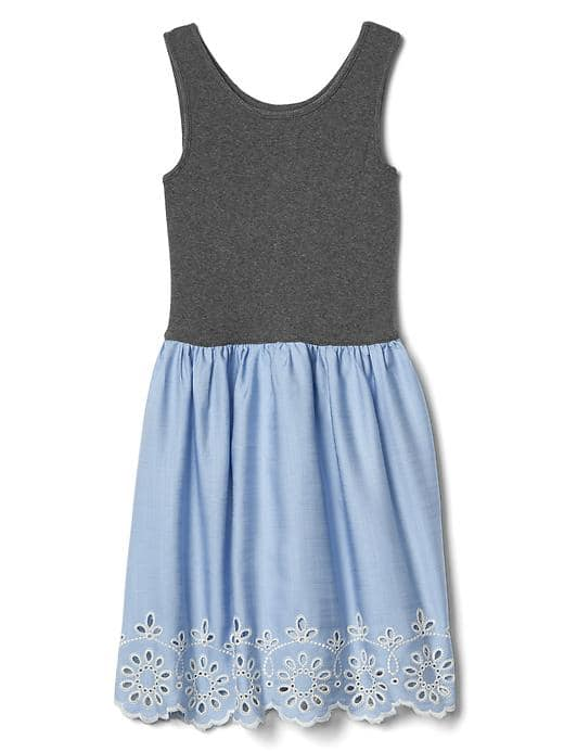 Chambray Tank Dress - $34.95 Gap