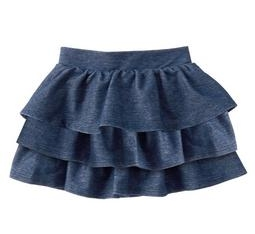 Knit Ruffle Skirt - $16.88 Crazy 8