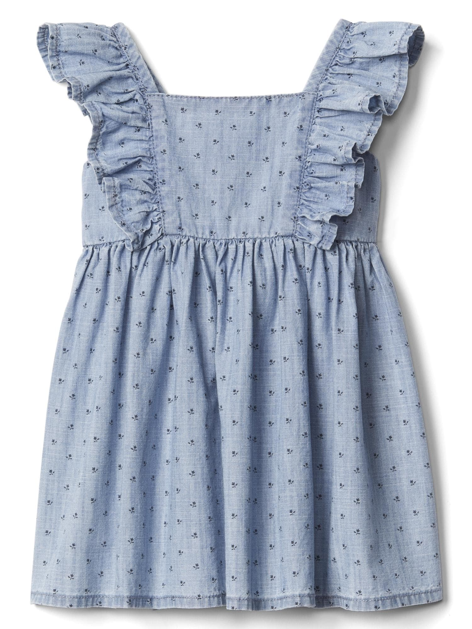 Floral Flutter Dress - $39.95 Gap
