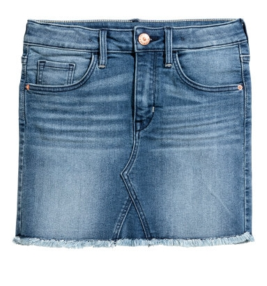 Denim Skirt - $19.99 H&M