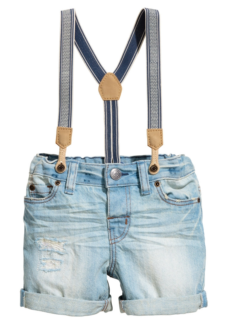 Suspender Shorts for Baby - $17.99 H&M