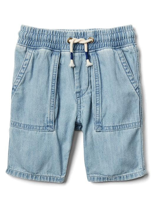 Pull-on Denim Short - $29.95 Gap