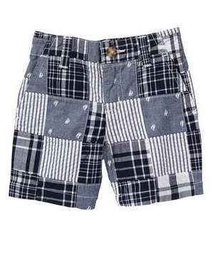 Patchwork Shorts - $34.95 Gymboree