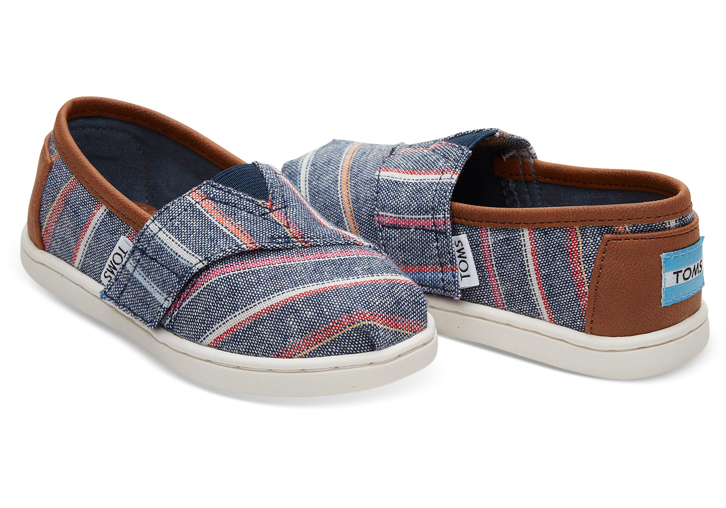 Multi Stripe Alpargatas - $32 Tom's