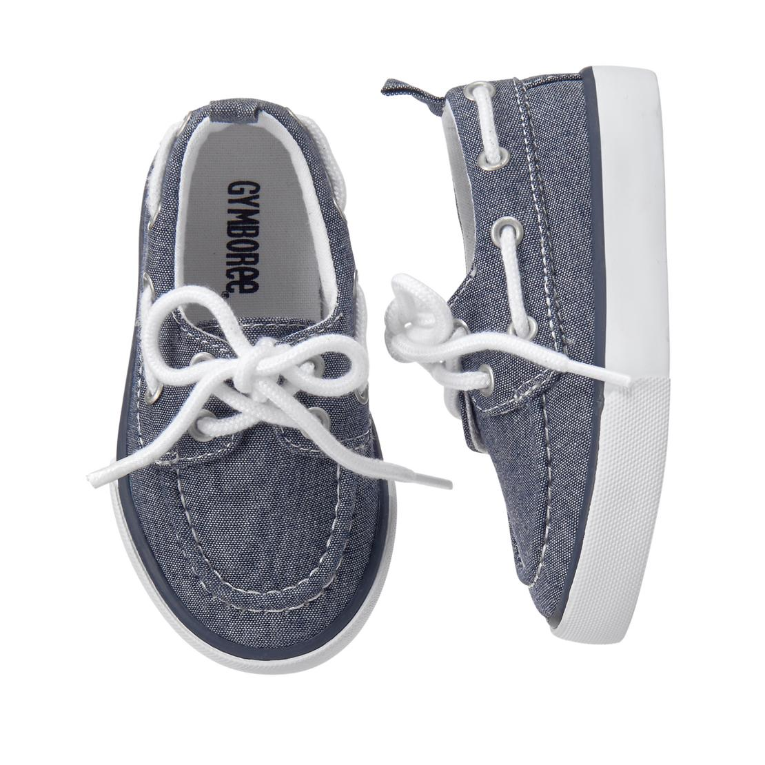 Chambray Boat Shoes - $29.95 Gymboree