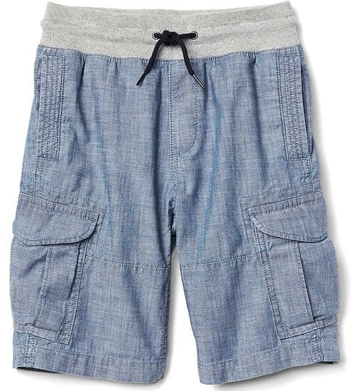 Pull-on Cargo Shorts - $29.95 Gap