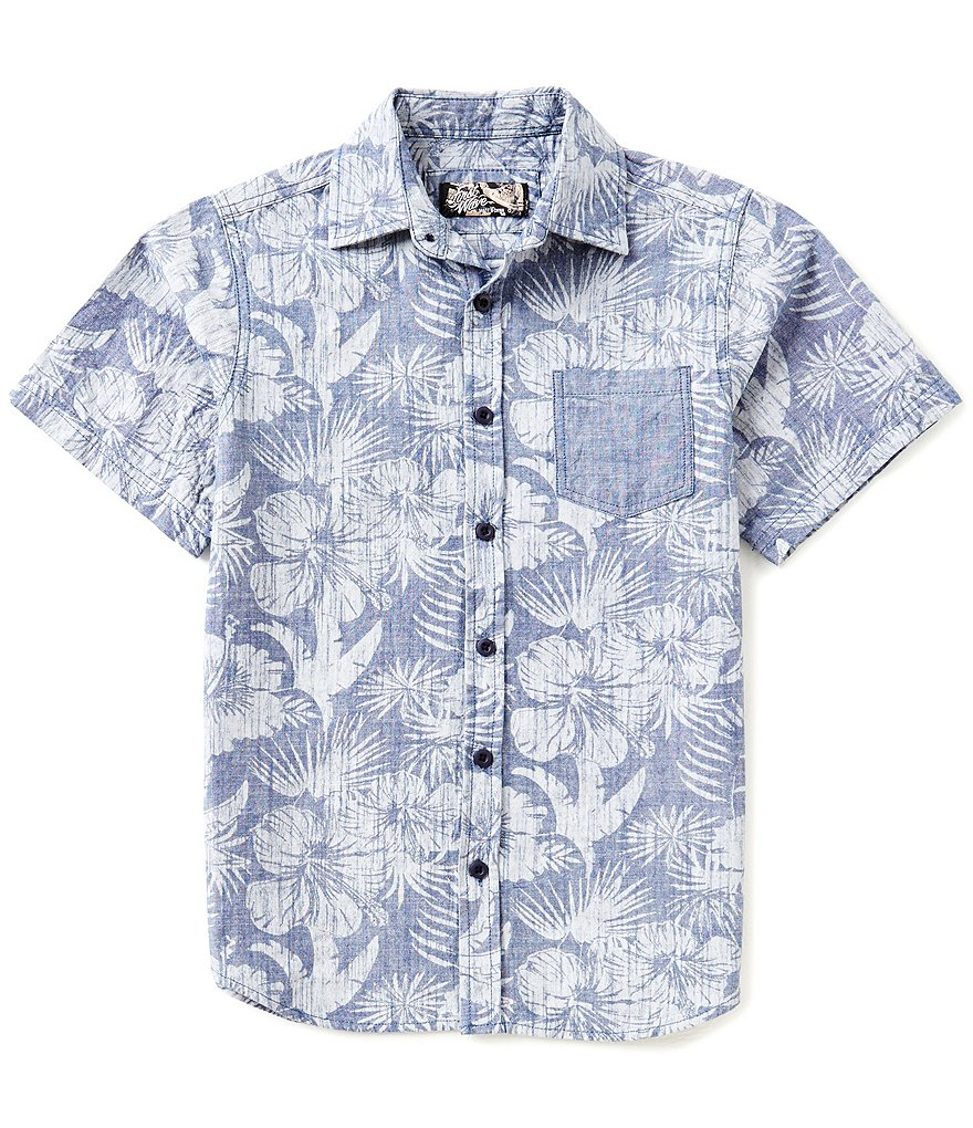 'First Wave' Printed Shirt - $28 Dillard's