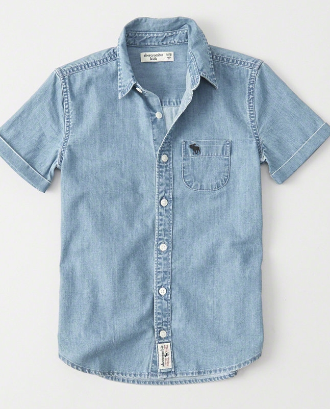 Short Sleeve Shirt - $34.95 Abercrombie