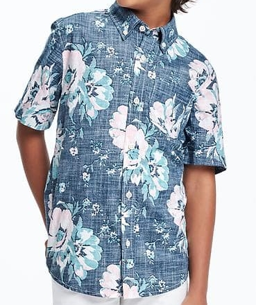 Floral Pocket Shirt - $19.94 Old Navy