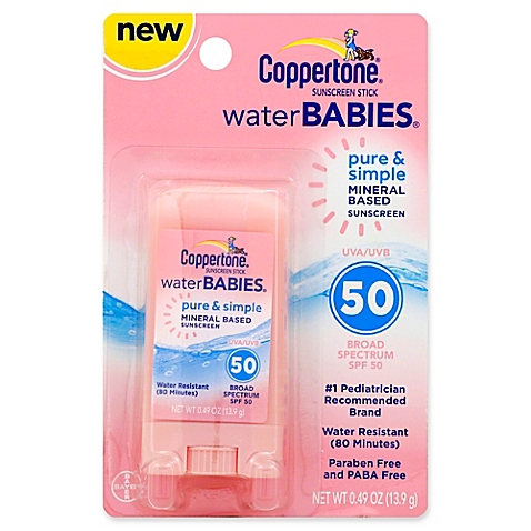 Coppertone Sunscreen Stick Water Babies Pure & Simple, SPF 50