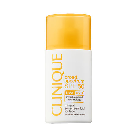 Clinique Mineral Sunscreen Fluid For Face, SPF 50