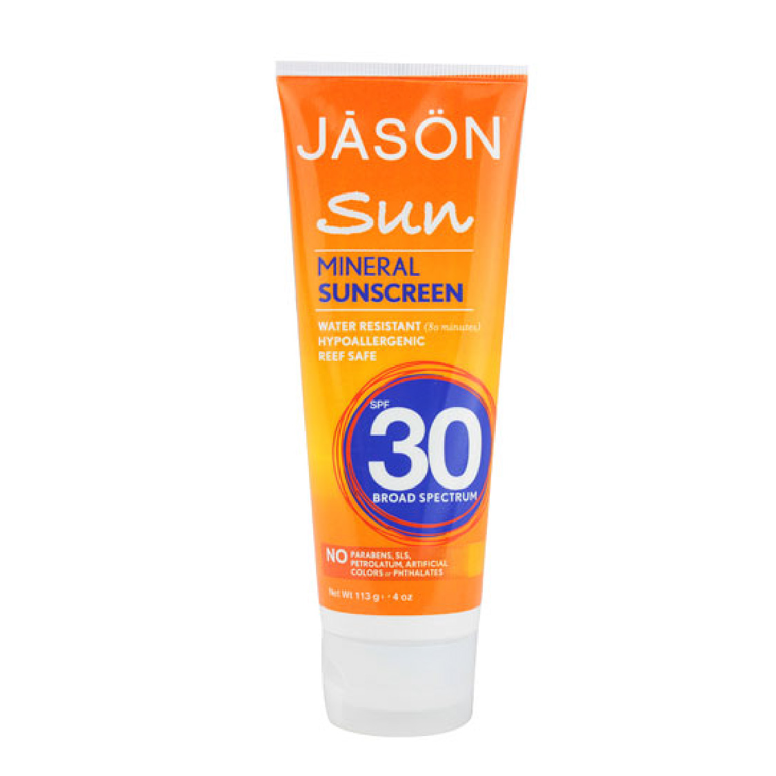 JASON Sun Mineral Sunscreen, SPF 30