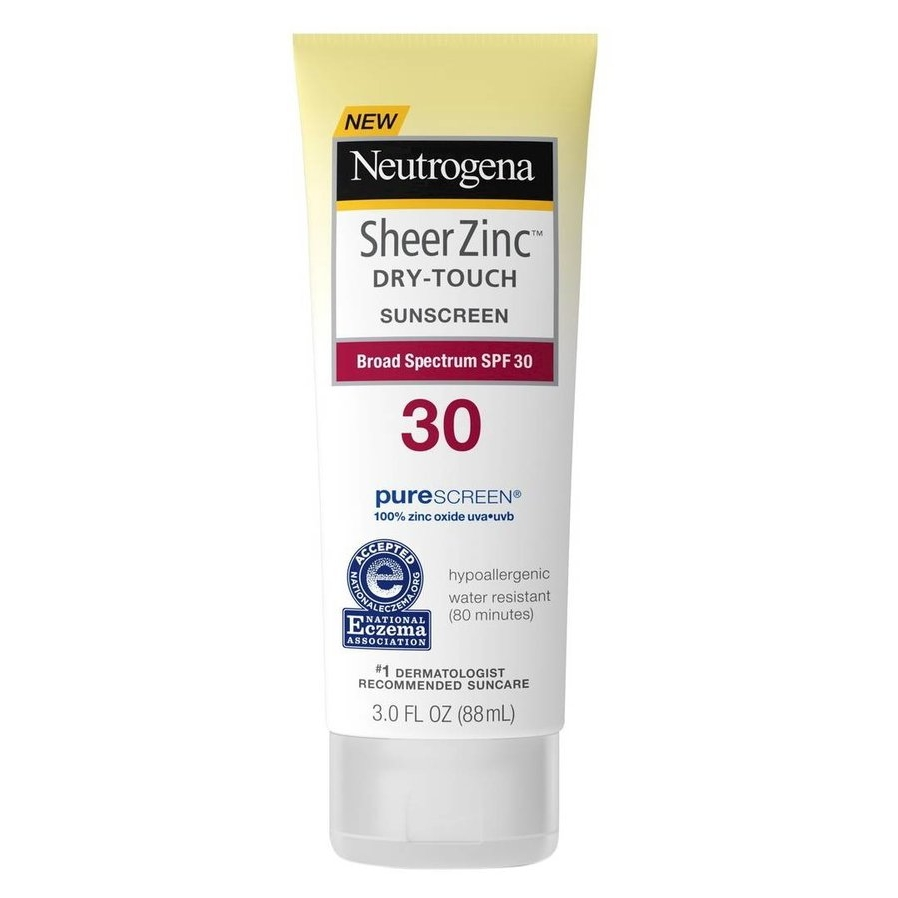 Neutrogena Sheer Zinc Dry-Touch Sunscreen, SPF 30
