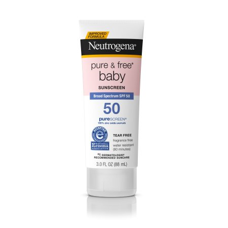 Neutrogena Pure & Free Baby Sunscreen, SPF 50