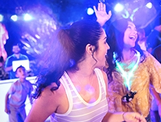"""""""Electric Ocean"""" at Sea World , starting June 15th- featuring new summer activities."""