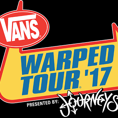 Vans Warped Tour  at Tinker Field- Saturday June 30 @ 11am